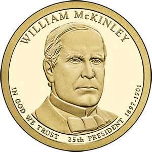 william mckinley coin